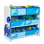 Dinosaurs Kids Bedroom Storage Unit with 6 Bins by HelloHome: Amazon.co.uk: Kitchen & Home