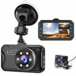 CHORTAU Dash Cam For Cars Front and Rear Full HD 1080P: Amazon.co.uk: Electronics