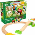 BRIO My First Railway Beginner Train Set Toddler Toy for Kids 18 Months and Up. Compatible with all BRIO Train Sets: Amazon.co.uk: Toys & Games