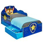 Paw Patrol Chase Toddler Bed with underbed Storage by HelloHome