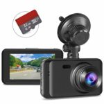 Dash Cam with SD Card Included FHD 1080P Dash Cams for Cars Dash Cameras Record Dash Cam with Night Vision