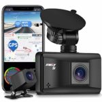 IIWEY 4K Dash Cam Front and Rear with WIFI GPS