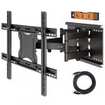 BONTEC TV Wall Bracket for 37-80 inch LED LCD Flat & Curved Screen